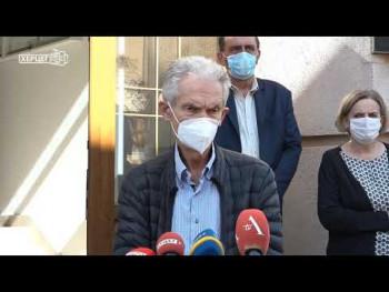Trebinje: Pogoršana epidemiološka situacija, Kovid odjeljenje prošireno sa dodatnih 80 kreveta (VIDEO)