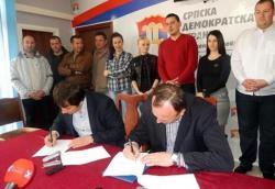 SDS i Stranka za pravdu i red zajedno na lokalne izbore u Trebinju