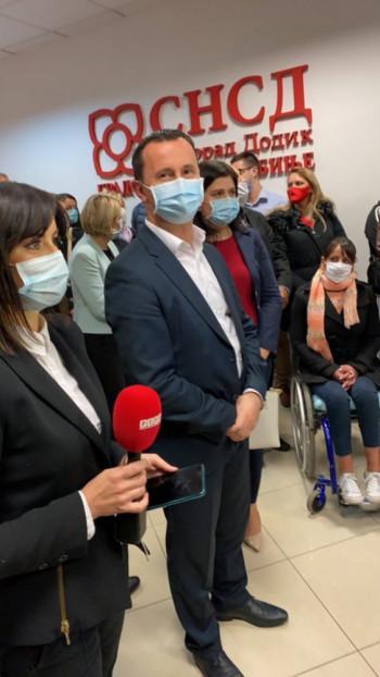 SNSD proglasio pobjedu – Mirko Ćurić ostaje gradonačelnik