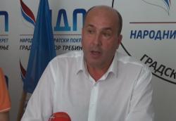 NDP : Bez podrške Vučureviću jer je nanio veliku štetu gradu