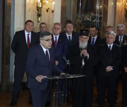PRIJEM U STAROM DVORU: Srbi su kroz vijekove naučili da bez države nema slobode (FOTO)