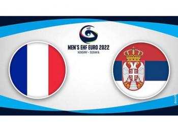 Rukometaši Srbije protiv Francuske u drugom kolu kvalifikacija za EP