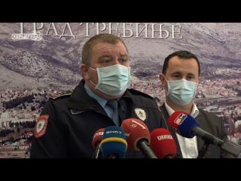 Sastanak u Gradskoj upravi povodom paljenja vozila u Trebinju