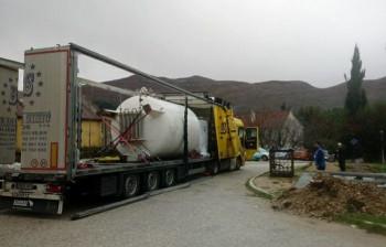 Bolnica Trebinje nabavila kiseoničku cisternu