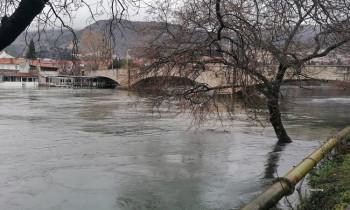 Povećan nivo Trebišnjice, nema straha od poplava