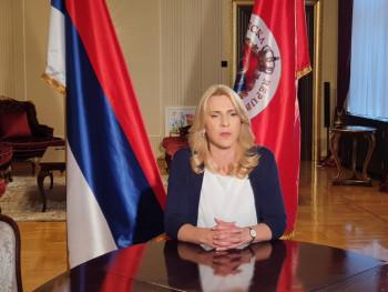 Predsjednica Srpske posjetiće Petrinju, Glinu i manastir Jasenovac