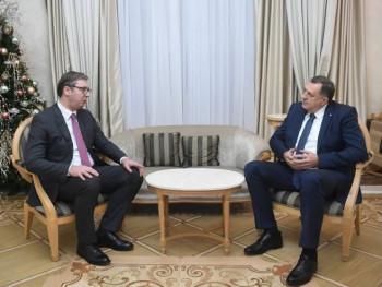U Beogradu razgovor Vučića i Dodika