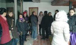 Protest radnika preduzeća Ugostiteljstvo i turizam u Gacku (VIDEO)