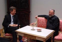 Посјета амбасадора Велике Британије у БиХ Епархији ЗХиП