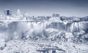 Hladni talas u SAD zaledio Nijagarine vodopade
