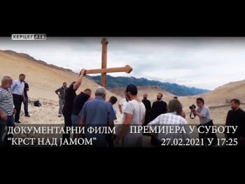 Dokumentarni film 'Krst nad jamom' u subotu od 17:20 na Herceg televiziji