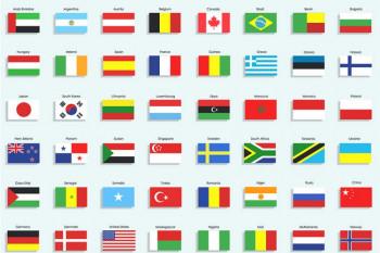 Da li znate zašto ljubičastu boju nema nijedna zastava na svijetu?