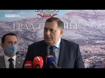 Dodik: U SDS i PDP nema ozbiljnog sagovornika za ozbiljne nacionalne teme (Video)