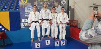 Takmičari džudo kluba 'Leotar' osvojili tri medalje na državnom prvenstvu u džudou