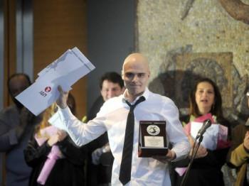Miodrag Dragičević - prvi dobitnik nagrade ''Nebojša Glogovac''