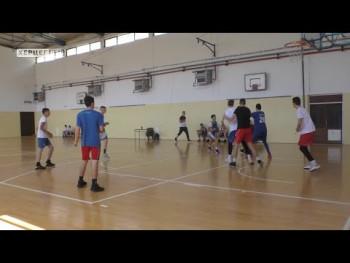 Trebinje: Održan kontrolni trening mladih košarkaša