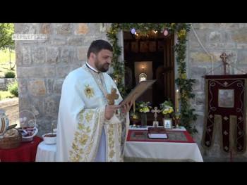 Dvije godine od osveštanja crkve Svete Varvare u trebinjskom selu Kočela (VIDEO)