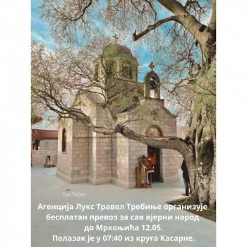 Бесплатан превоз до Мркоњића за све вјернике