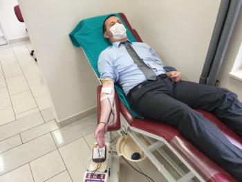 Radnici Gradske uprave u akciji darivanja krvi