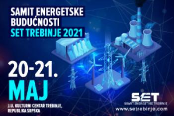 Други ''Самит енергетике Требиње 2021'', под слоганом ''Хибридна енергетска будућност'' почиње сутра