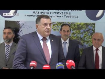 Додик на самиту енергетике у Требињу (ВИДЕО)