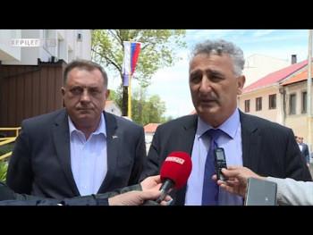 Dodik i Avdalović o ulaganjima u Nevesinje (VIDEO)