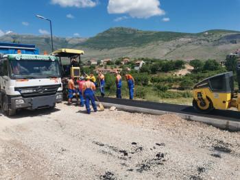 Завршетак радова на саобраћајници која повезује брану 'Горица' и центар Требиња у наредних мјесец дана