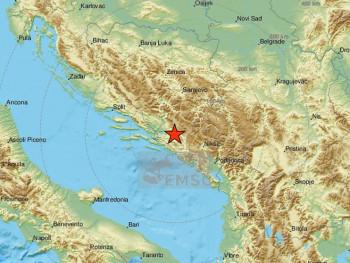 Земљотрес код Мостара