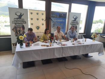 Конференција за штампу - ''Рукометни камп Младен Бојиновић - Дуги Требиње 2021''