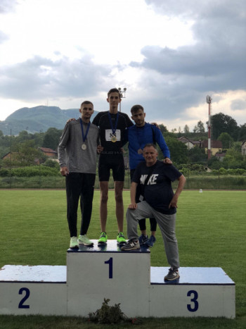 Marko Šuković iz AK 'Trebinje' osvojio prvo mjesto na pojedinačnom prvenstvu BiH u atletici za seniore