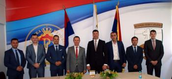 Састанак Kатића и градоначелника Ћурића