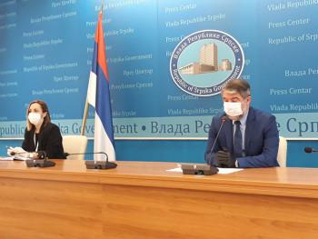 Шеранић: У Српску до сада стигло око 300.000 вакцина
