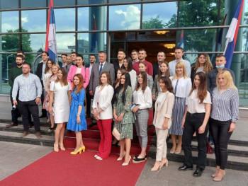 Ангелина Вукосав најбољи студент у Српској