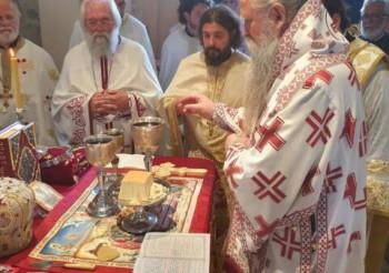 Izabrani Mitropolit Joanikije bogoslužio u Herceg Novom