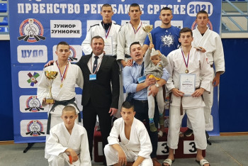 "Juniori Džudo kluba ""Leotar"" najbolja ekipa u Republici Srpskoj"