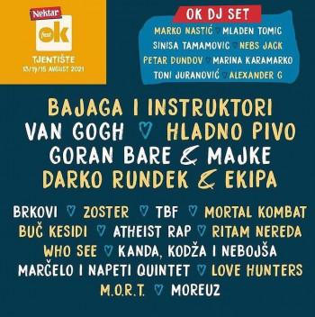 Nektar OK fest od 13. do 15. avgusta na Tjentištu