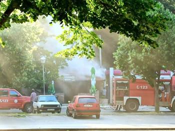 Požar u roštiljnici u centru Trebinja