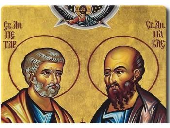 SPC sutra proslavlja Petrovdan