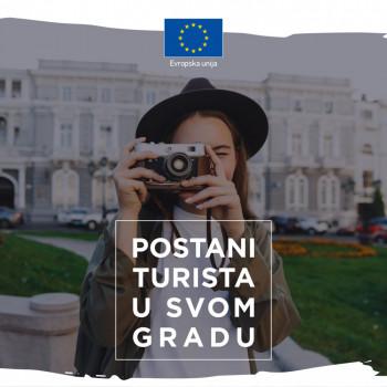 EU Info centar organizuje aktivnost ''Budi turist u svom gradu''