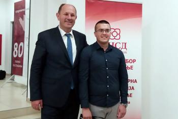 Srđan Kovač novi predsjednik Mladih socijademokrata Trebinja