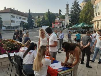 Počelo potpisivanje peticije u Gacku