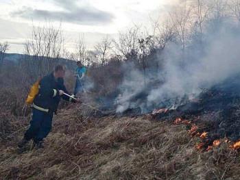 Gacko: U selu Šume vatrogasci brane kuće od vatre
