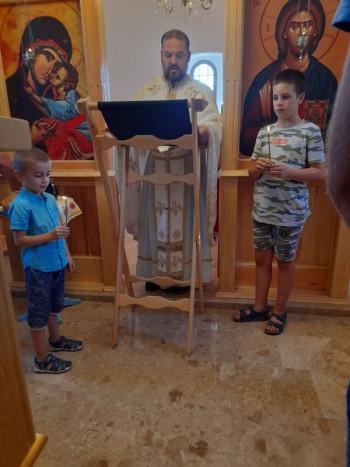 Bileća: Obilježena krsna slava Hrama Svetog proroka Ilije