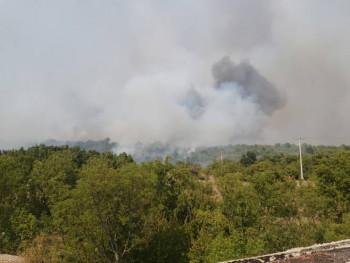 Požar u Ljubinju pod kontrolom, ali i dalje aktivan