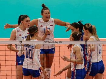Odbojkašice Srbije zabilježile drugu pobjedu na Evropskom prvenstvu