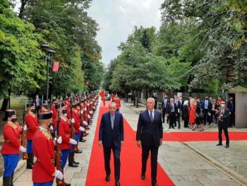 Erdogan stigao u Crnu Goru (FOTO)