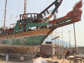 Od dječačkih snova do restauracije broda (VIDEO)