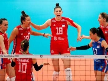 RTRS, 17.00: Odbojkašice Srbije protiv Turske za finale EP