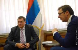 Vučić i Dodik: Bolja budućnost za RS i dobri odnosi sa BiH