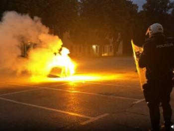 Cetinje: Obračun policije i demostranata; Ima povrijeđenih